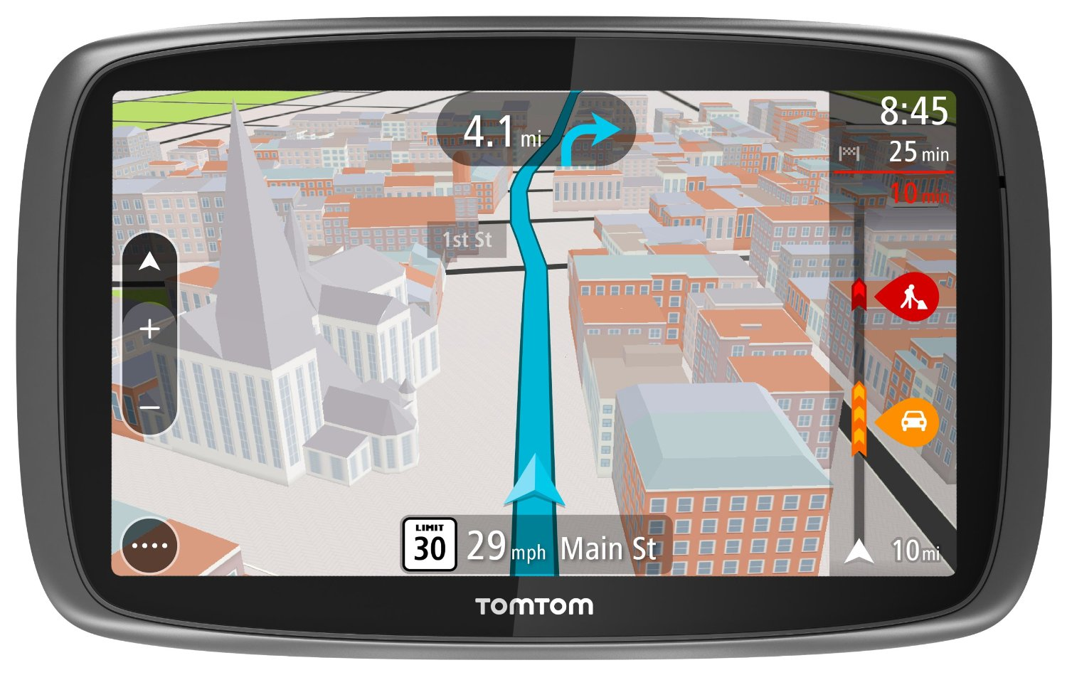 tomtom go 600 portable vehicle gps review. Black Bedroom Furniture Sets. Home Design Ideas