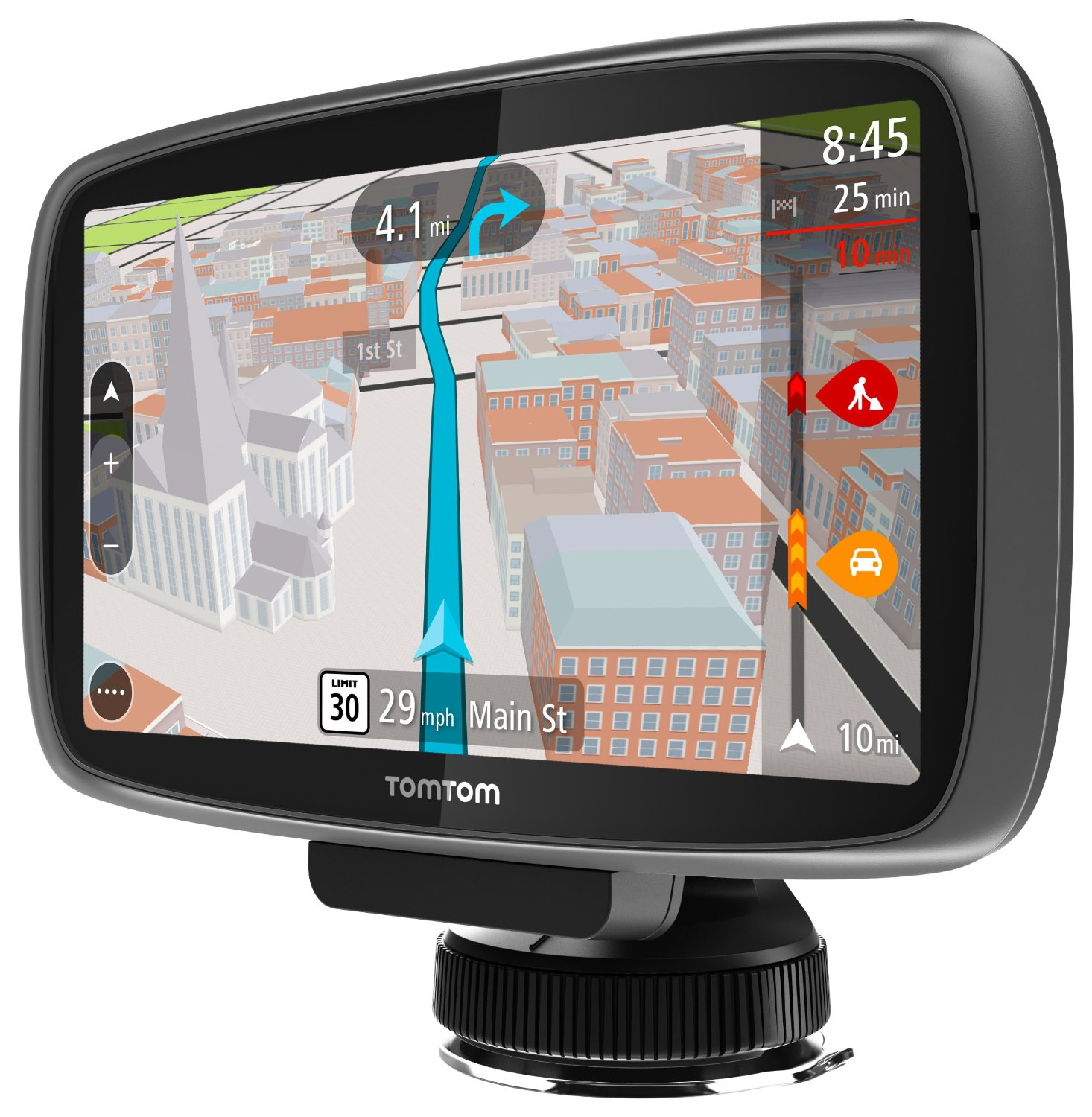 TomTom GO 600 Portable Vehicle GPS Review