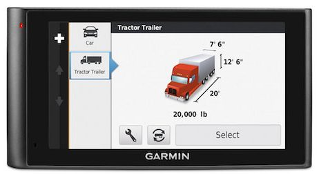 Garmin DezlCam Trucker's GPS Unit