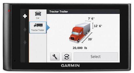 Garmin DezlCam Trucker's GPS Unit